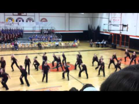 Scappoose Middle School Dance Team