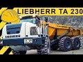Liebherr TA 230 Dumper Einsatz - Walkaround & Demo im Steinbruch  Jobreport