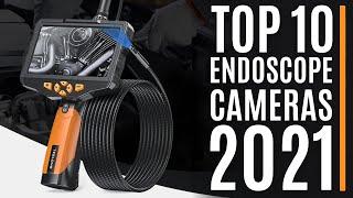 Top 10: Best Endoscope Cameras of 2021 / Borescope Inspection Camera / Dual Lens Snake Camera