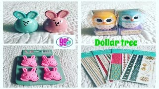 Dollar tree/99 cent only store haul 03/10/2017