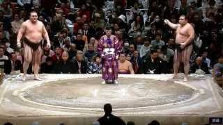 January 2015 - Day 15 - Hakuho v Kakuryu