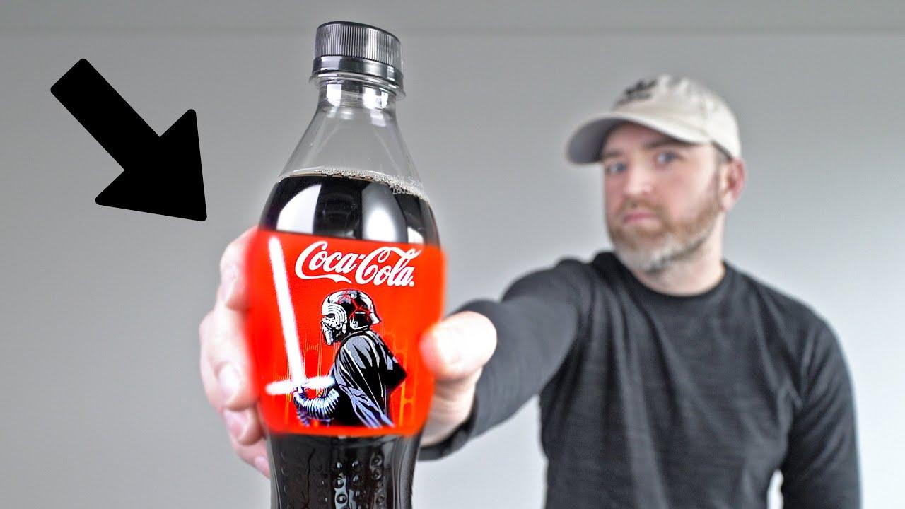 World's First Electronic Coke Bottle!