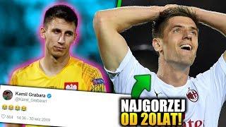 Kamil Grabara ŚMIEJE się z decyzji Jerzego Brzęczka! Co się stało z AC Milanem?