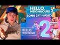 [SFM] Hello neighbor 2 song (JT Music) | REACTION