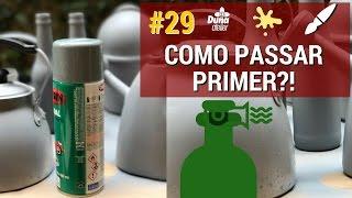 Como Utilizar Primer Em Lata, Ferro, Alumínio, Plástico ou Vidro