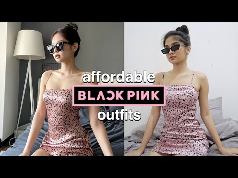 COPYING BLACKPINK OUTFITS FROM SHOPEE
