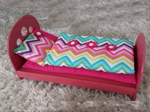 How to Make a Bed for 18 Inch Doll