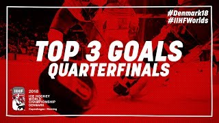 Top Goals of the Day May 17 2018   #IIHFWorlds 2018