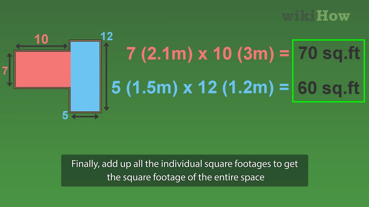 How to Measure Square Footage: 23 Steps (with Pictures) - wikiHow