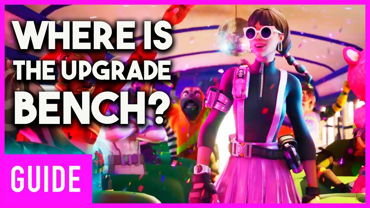 Fortnite Chapter 2 All Upgrade Bench Locations So Far