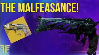 MALFEASANCE UNLOCKED! GAMBIT EXOTIC! DESTINY 2 FORSAKEN