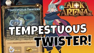 TEMPESTUOUS TWISTER - VOYAGE OF WONDERS - FULL CLEAR! [AFK ARENA GUIDE]