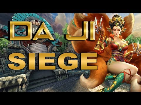 SMITE! Da Ji, El asesino tanque xD! Siege #144