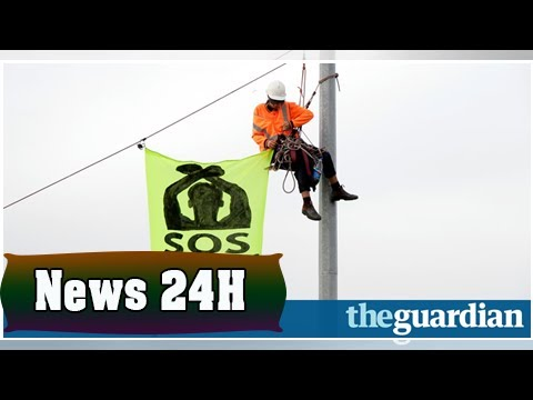 Refugee advocates blockade melbourne port in protest at offshore detention | News 24H