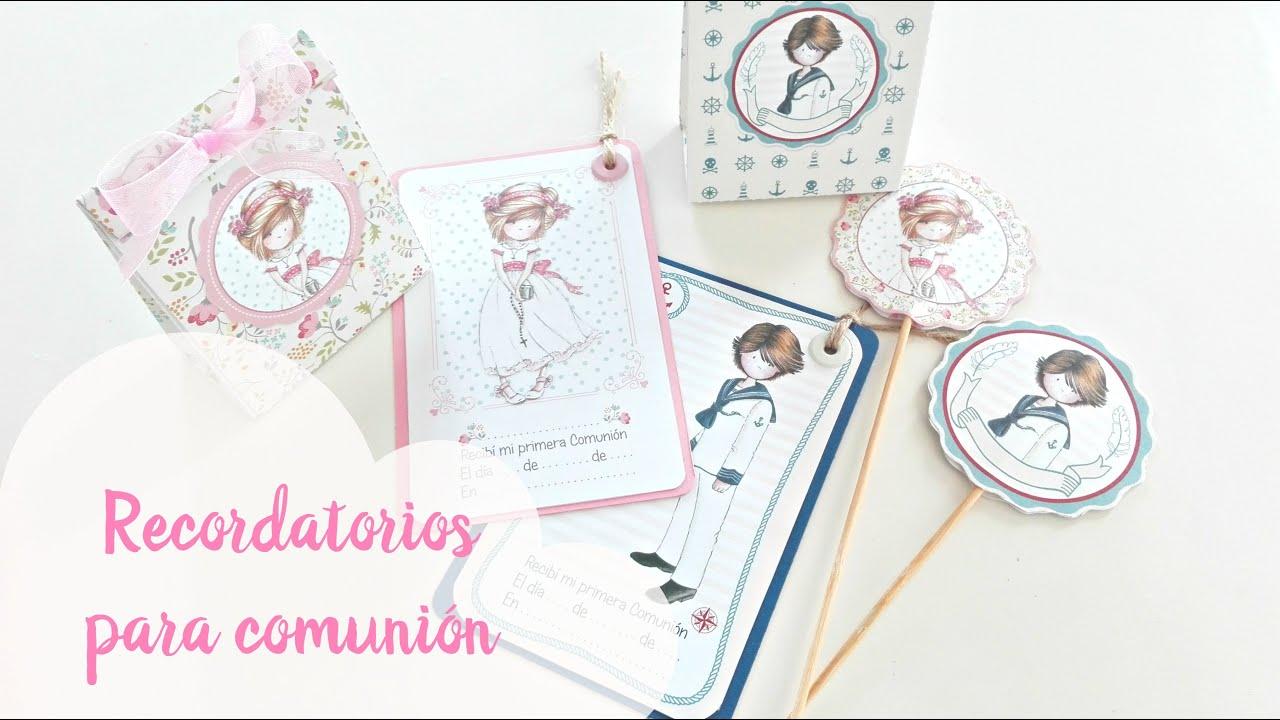 recuerdos primera comunion scrapbook
