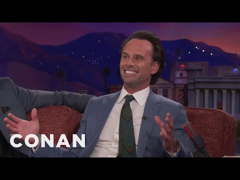Walton Goggins Is Descended From An Irish King   CONAN on TBS