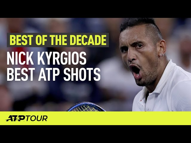 Nick Kyrgios Best ATP Shots 2010-2019 | ATP