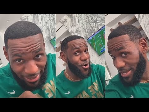 LeBron Happy AF With His Fresh Haircut