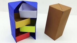 Secret Box Making Easy Tutorial For Kids | DIY Gift Box Origami | Paper Craft