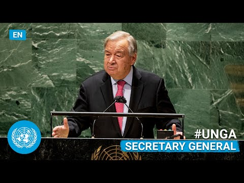 🇺🇳 Secretary-General Addresses General Debate, 76th Session