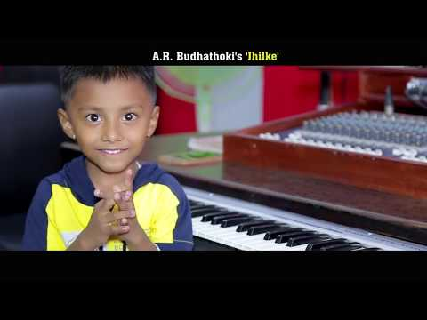 New Nepali song JHILKE By 5 Years old  Boy