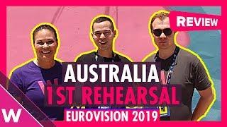 Australia First Rehearsal: Kate Miller-Heidke