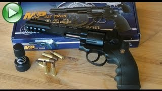 REVIEW: Smith and Wesson 327 TRR8 CO2 BB Airgun