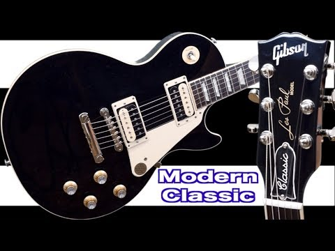 the-new-modern-collection-classic-|-2019-gibson-les-paul-classic-black-|-review-+-demo