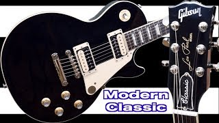 The NEW Modern Collection Classic | 2019 Gibson Les Paul Classic Black | Review + Demo