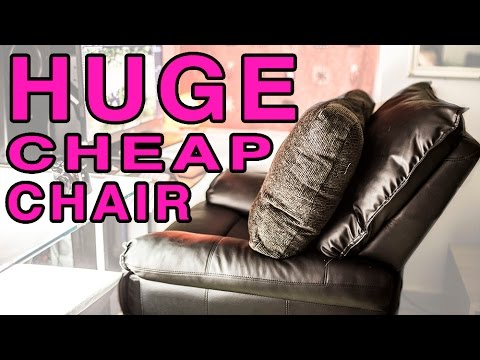Most comfortable editing / gaming chair? - Low cost recliner review