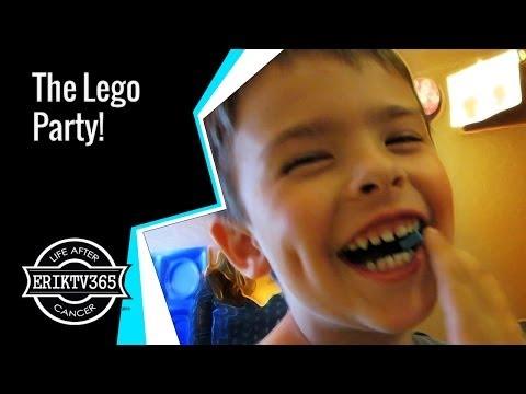 The LEGO MOVIE Birthday Party! (Day #1396) @ErikTV365