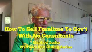 How To Sell Anything (Even Furniture) To The Government