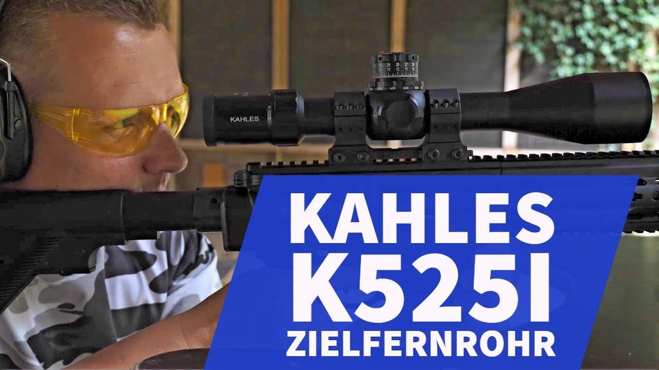 Kahles k525i: taktisches zielfernrohr auf einer hk mr308 im test