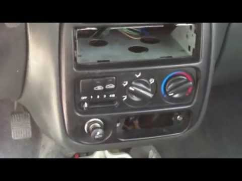 Removal Dash Hyundai Accent 1995 1999 Youtube