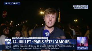 14-Juillet: revivez l'intégralité du feu d'artifice de la Tour Eiffel