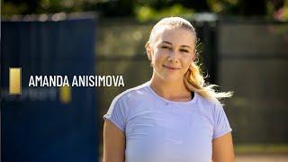 Amanda Anisimova | WTA x TopCourt Tutorial
