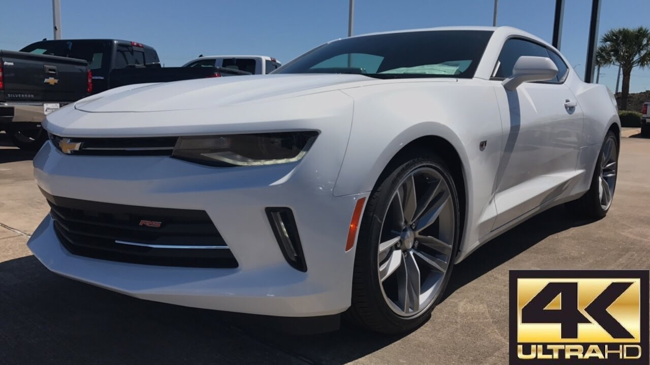 2017 Chevrolet Camaro Rs 3 6l V6 Review