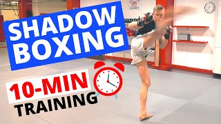 10-MIN SHADOW BOXING WORKOUT (FOLLOW ALONG!)