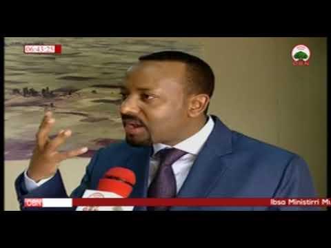 Ibsa Haala Yeroo irratti Ministirri Muummee Dr Abiyyi OBNif Addaatti Kenan 03 01 2011