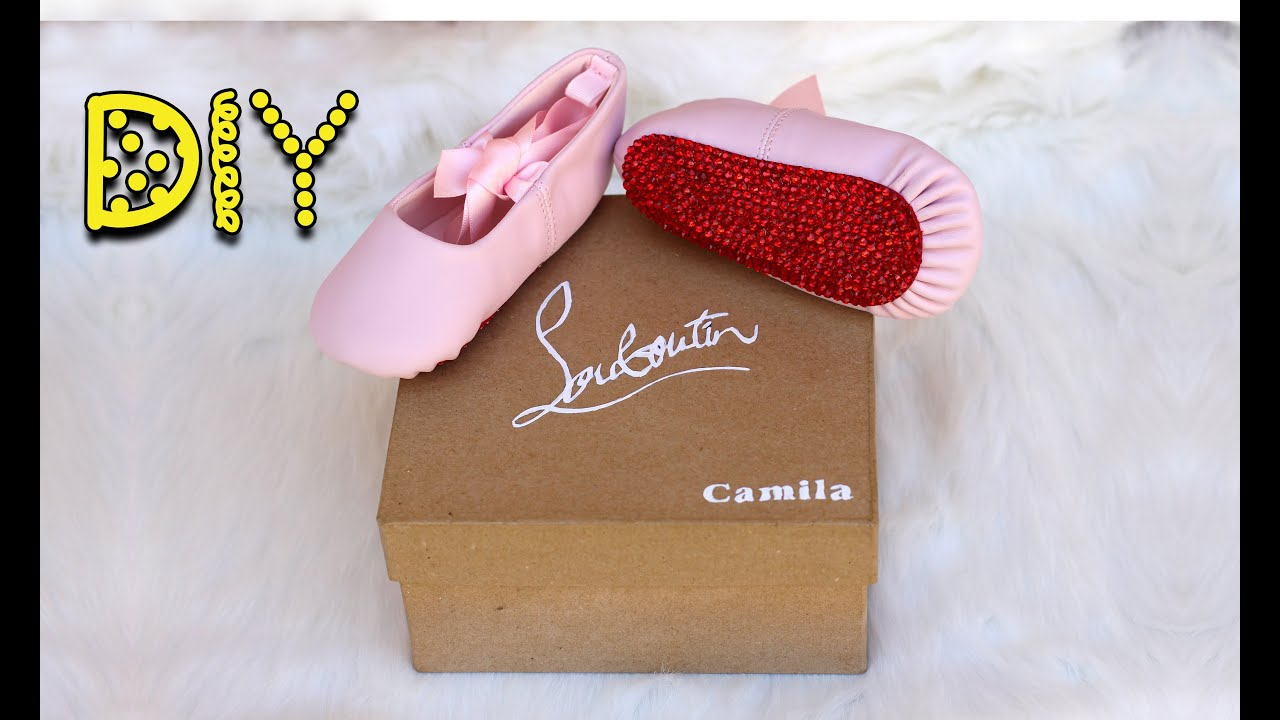 8ccff50654b0 DIY Bling Baby Red Bottoms   Shoe Box - Christian Louboutin Inspired ...