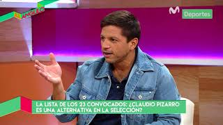 Al Ángulo: ¿Claudio Pizarro convocado para jugar el Mundial Rusia 2018?