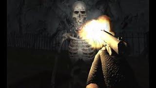 Slenderman Must Die: Chapter 7- Abandoned Graveyard Game level (1)