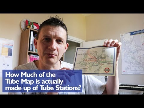 How Much Of The Tube Map Is Actually Tube?