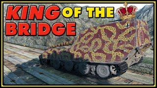 King of the Bridge - Jagdpanzer E-100 - World of Tanks Gameplay