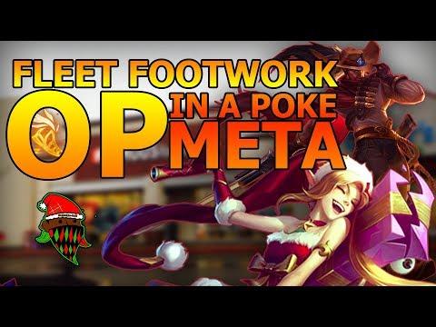 Is Fleet Footwork OP? Jinx And Yasuo Fleet Footwork - League Of Legends