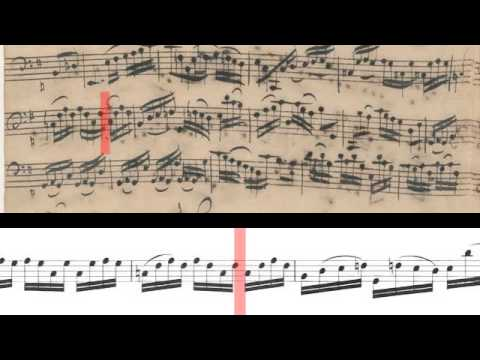 BWV 1007 - Cello Suite No.1 (Scrolling)