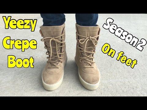 07653517d1aa6 Yeezy Season 2 Crepe Boot
