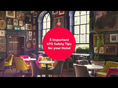#lpgforhotel Safety Tips For For Hotel While Using LPG For Commercial Use