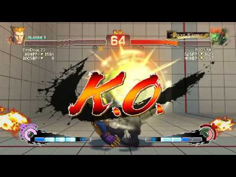 Ultra Street Fighter IV rank: Guile vs Everybody Part 1