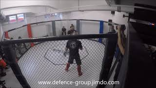 Defence-Group WINGTSUN SPORT FIGHTER in MMA Fight
